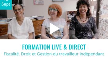 FORMATION LIVE ONLINE – 12 Sept. 2018 – 9h à 18h