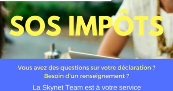 Skynet vérifie votre déclaration gratuitement à Gilette les 5 et 19 mai
